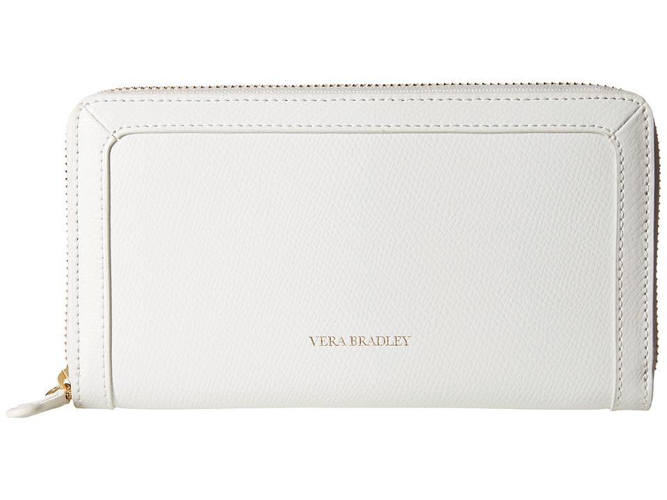 Vera Bradley - Georgia Wallet (Oyster) Wallet Handbags