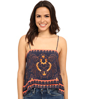 Free People - Scarf Print Tank Top