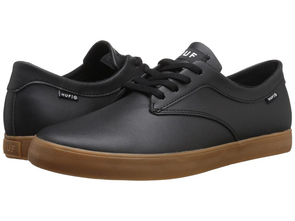 HUF - Sutter (Black/Gum 2) Mens Skate Shoes