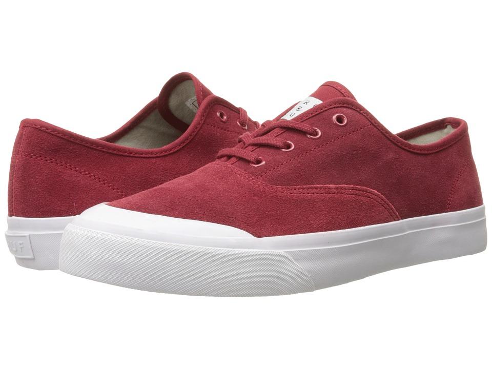 HUF Cromer Red Mens Skate Shoes