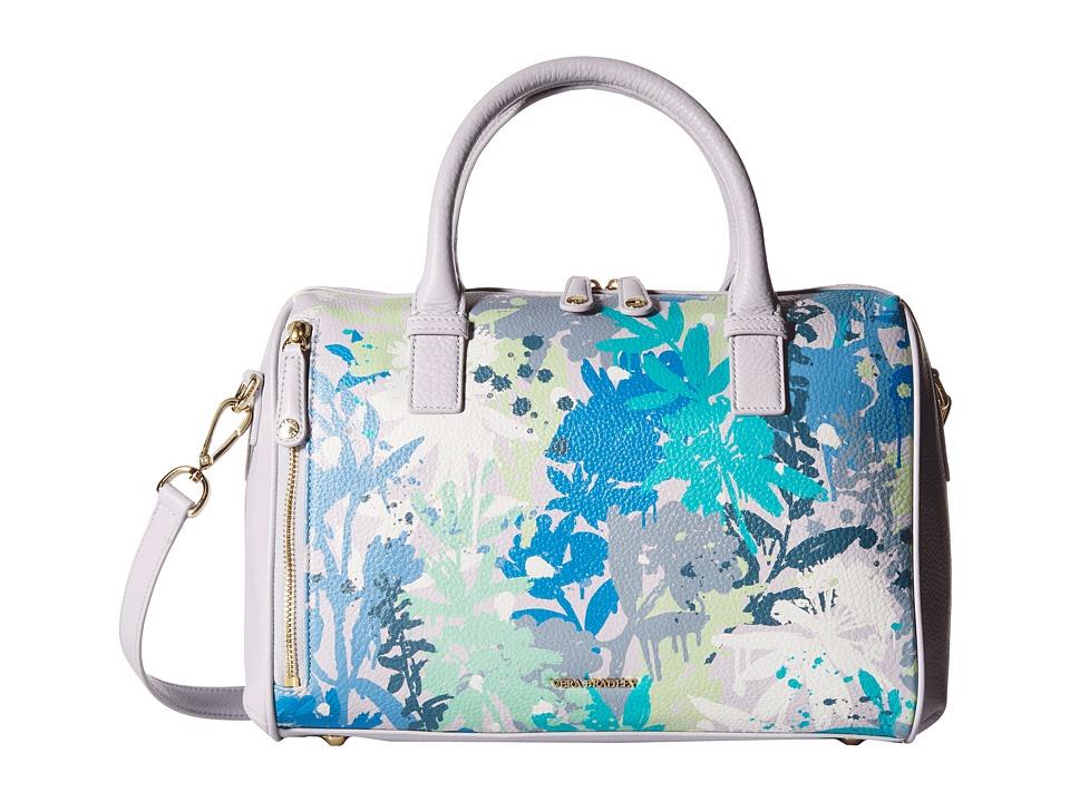 Vera Bradley Marlo Satchel Camofloral Gray Satchel Handbags