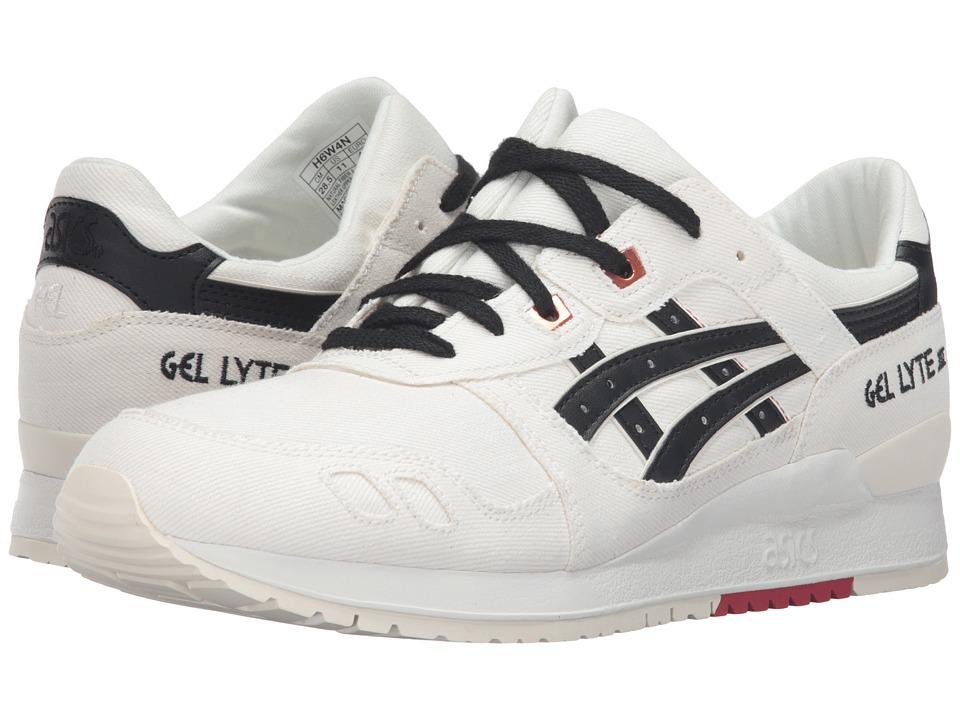 ASICS Tiger Gel-Lyte III (Slight White/Black) Classic Shoes