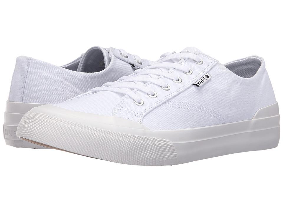 HUF - Classic Lo Ess TX (White) Mens Skate Shoes