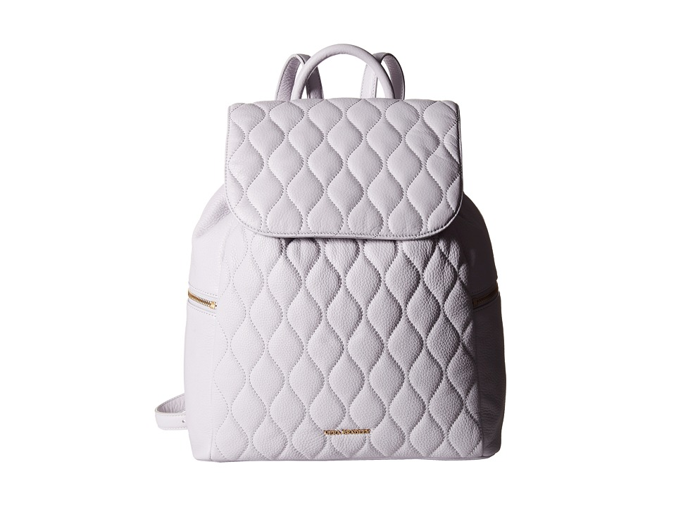 Vera Bradley Quilted Amy Backpack Cloud Gray Backpack Bags