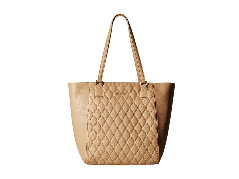 Vera Bradley Quilted Ella Tote Nude Tote Handbags