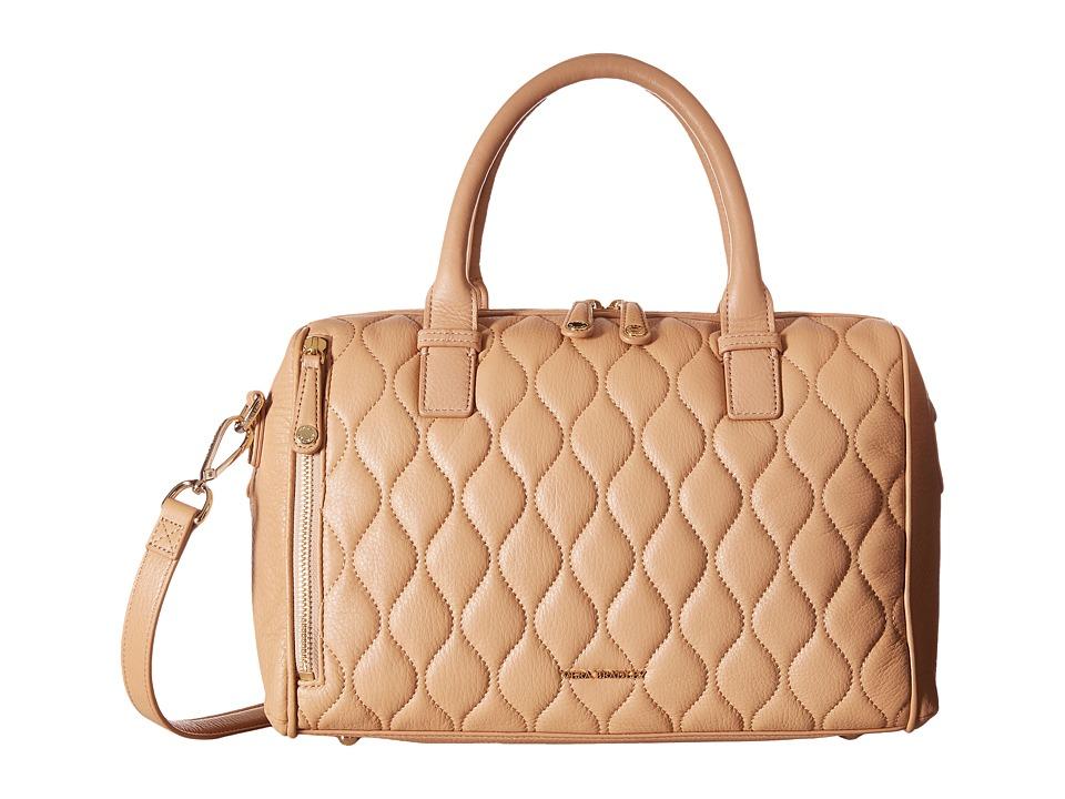 Vera Bradley Quilted Marlo Satchel Nude Satchel Handbags