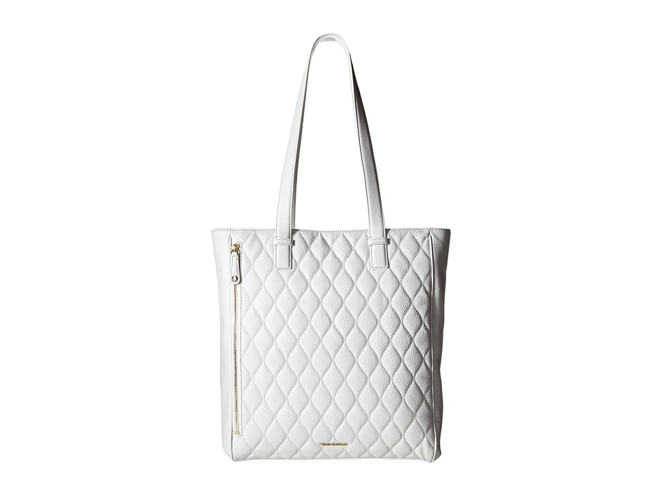 Vera Bradley Quilted Leah Tote White Tote Handbags