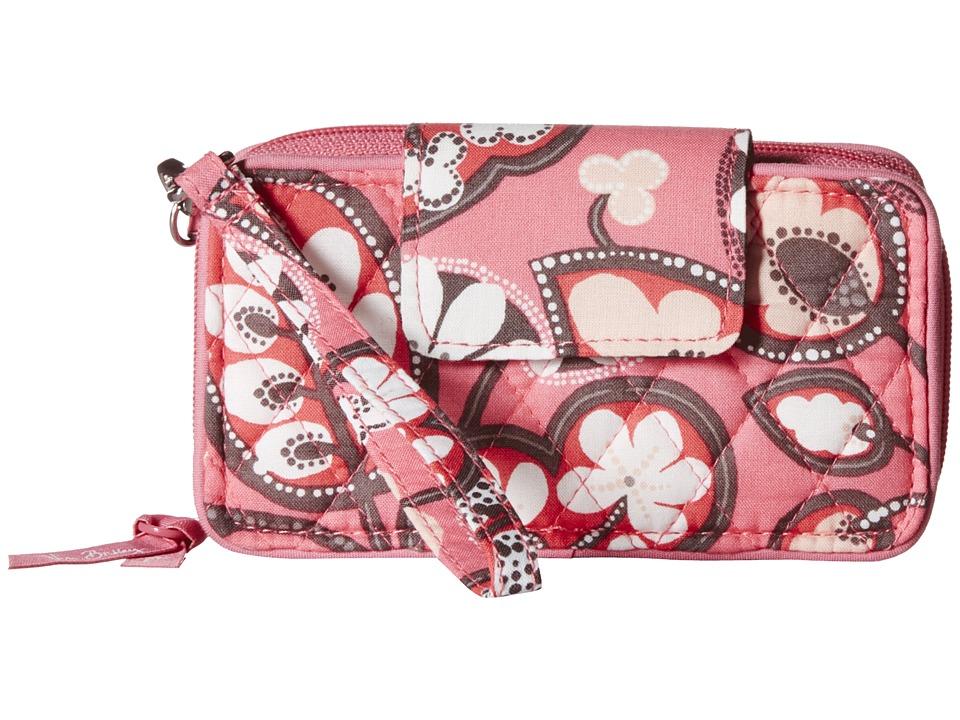 Vera Bradley Smartphone Wristlet for iPhone 6 Blush Pink Clutch Handbags
