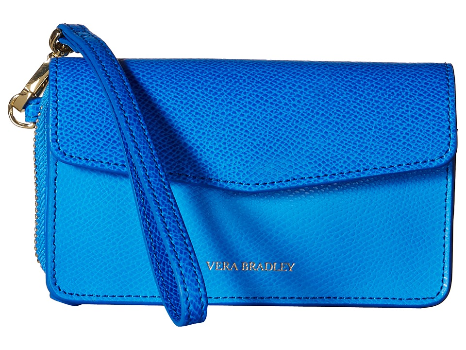 Vera Bradley Smartphone Wristlet for iPhone 6 Coastal Blue Wristlet Handbags