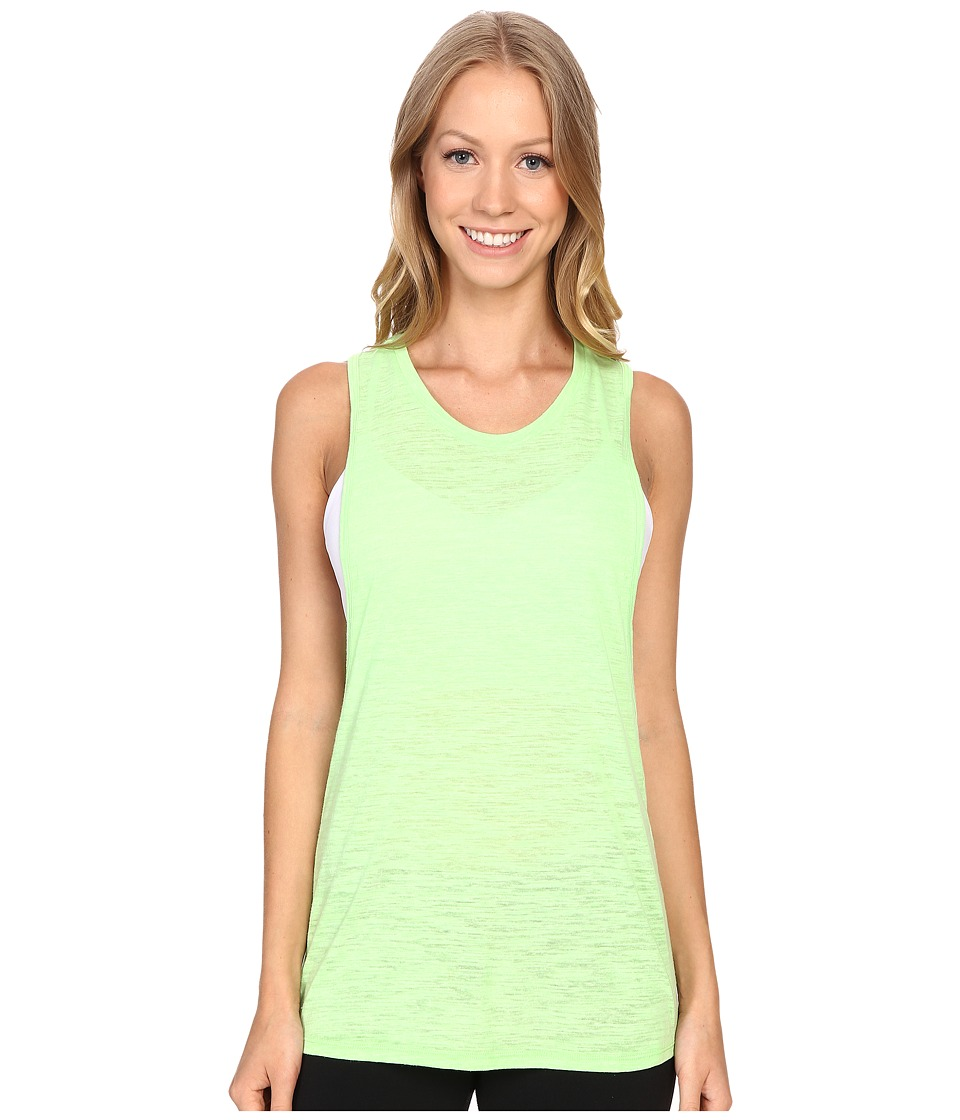 ALO Breeze Tank Top Glowstick Womens Sleeveless