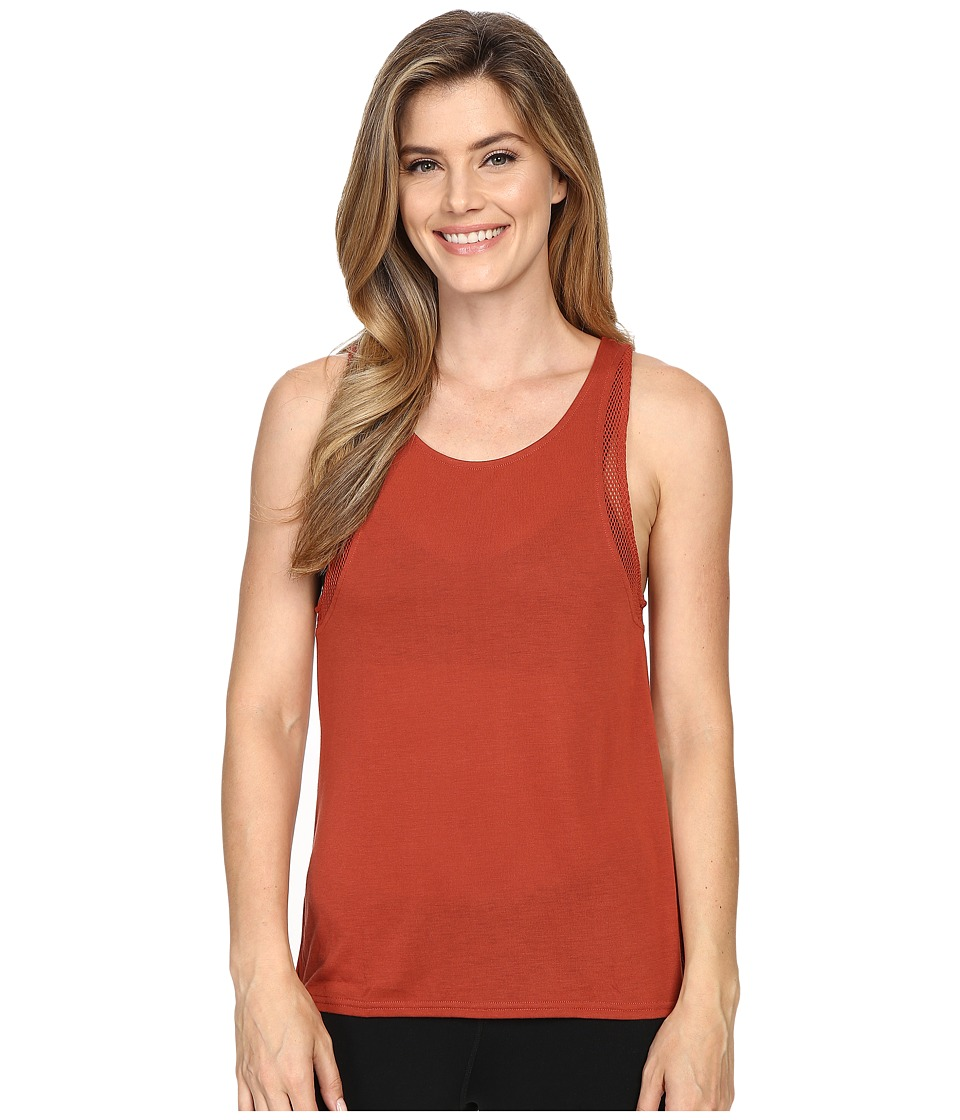 ALO Sunshade Tank Top Sunbaked/Sunbaked Womens Sleeveless