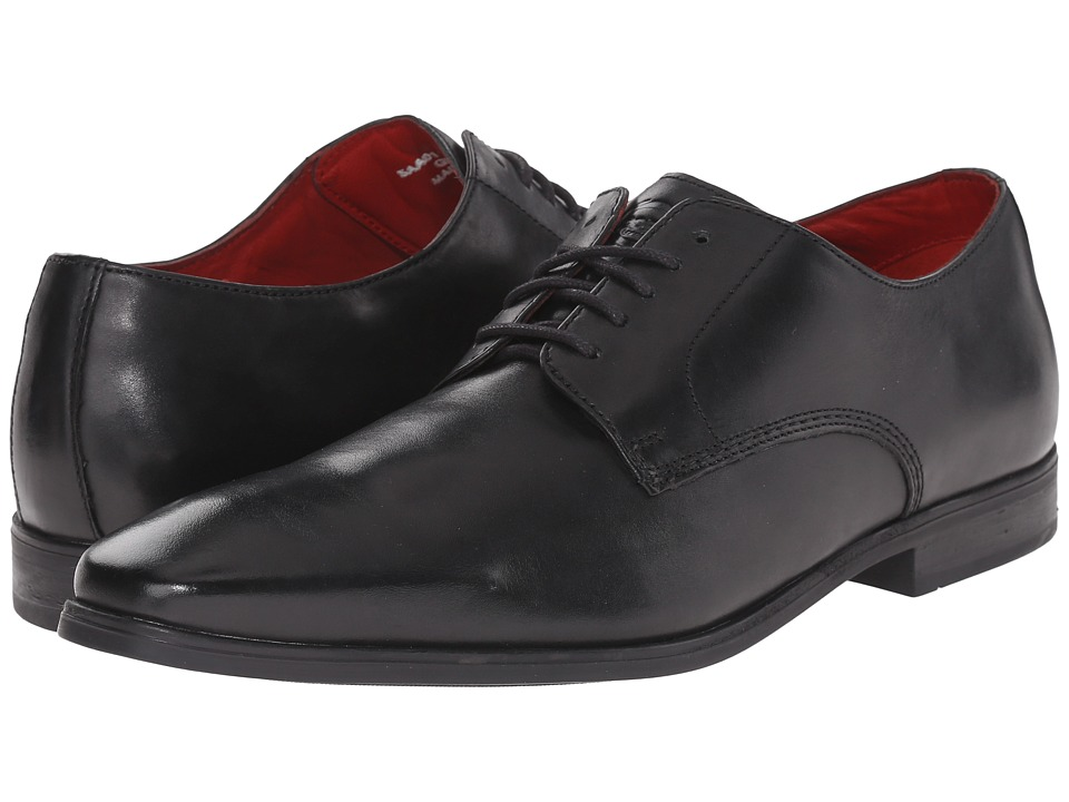 Base London George Black Mens Shoes