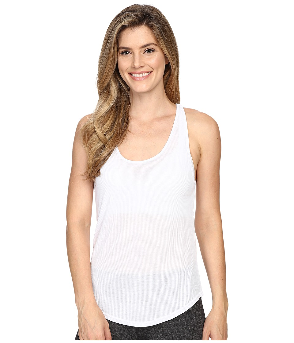 ALO Sculpt Tank Top White Womens Sleeveless