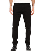 Kenneth Cole Sportswear - Slim Moto Knit Five-Pocket in Black