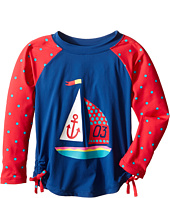 Hatley Kids - Sailboat Rashguard (Toddler/Little Kids/Big Kids)