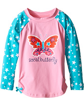 Hatley Kids - Electric Butterfly Rashguard (Toddler/Little Kids/Big Kids)