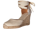 Soludos - Tall Wedge Linen (Blush)