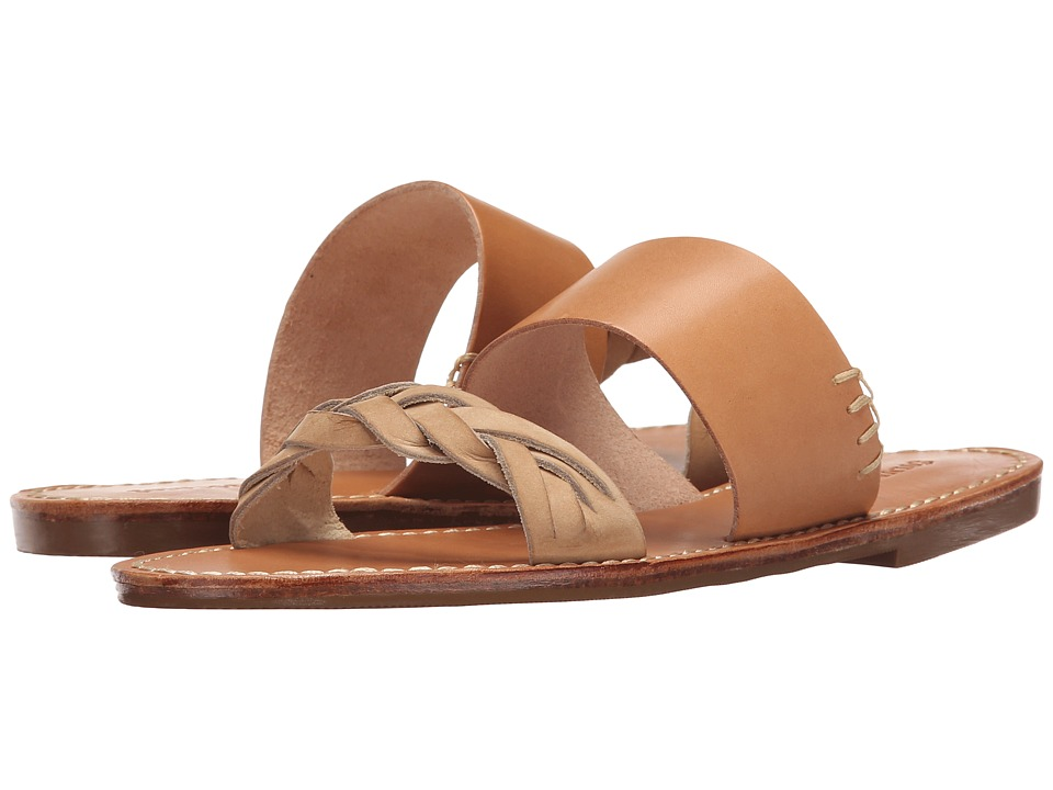 Soludos Braided Slide Sandal Vachetta Womens Sandals