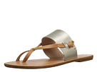Slotted Thong Sandal