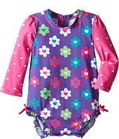 Hatley Kids - Flower Garden Hearts Rashguard (Infant)