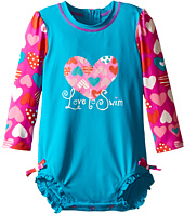 Hatley Kids - Crazy Hearts Rashguard (Infant)