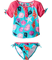Hatley Kids - Beach Shells Rashguard Tankini Sets (Toddler/Little Kids/Big Kids)