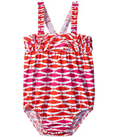 Hatley Kids - Little Fishes Ruffle One-Piece Swimsuit (Infant)