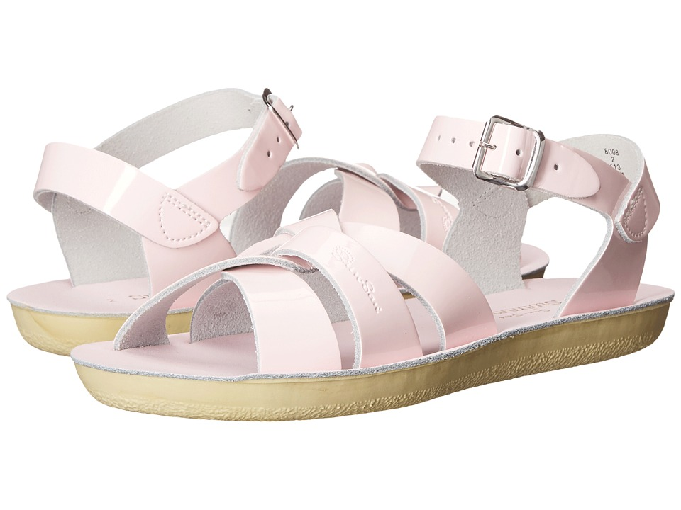 Salt Water Sandals Sun-San Swimmer (Toddler/Little Kid) (Shiney Pink) Girls Shoes