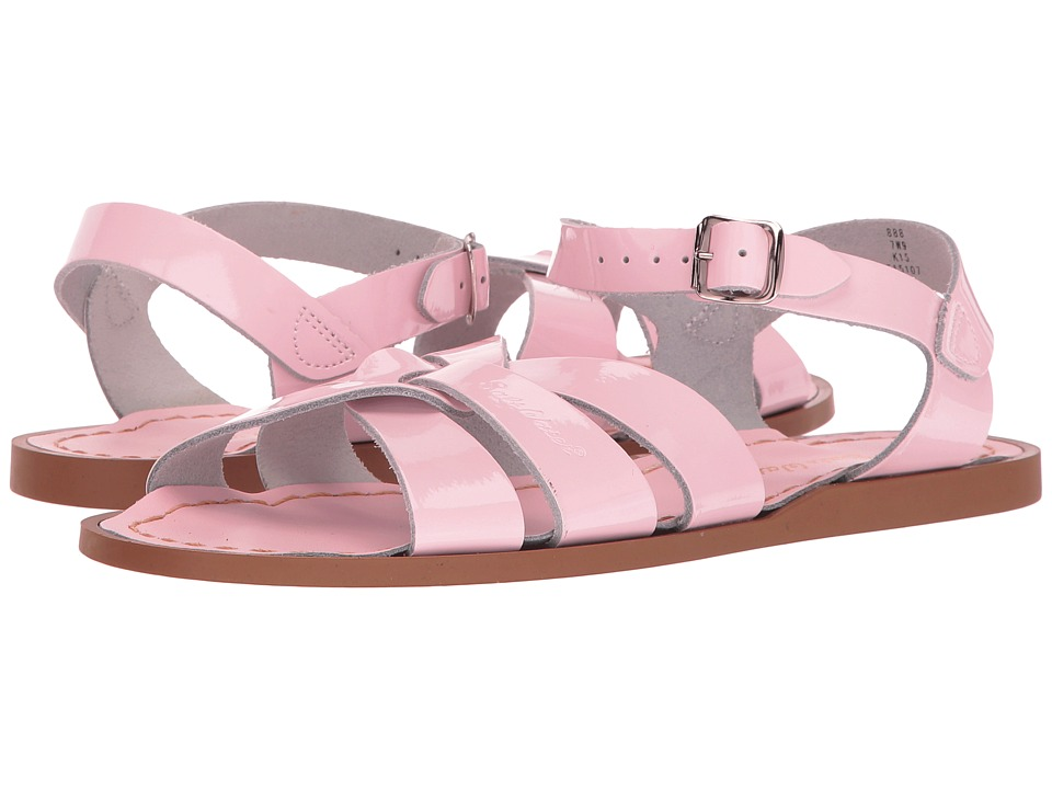 Salt Water Sandal by Hoy Shoes The Original Sandal (Big Kid/Adult) (Shiney Pink 1) Girls Shoes