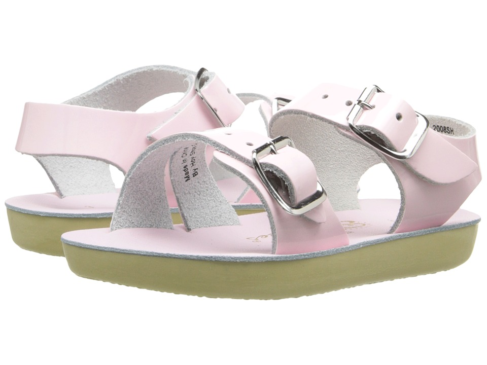 Salt Water Sandal by Hoy Shoes Sun San Sea Wees Infant/Toddler Shiney Pink 1 Girls Shoes