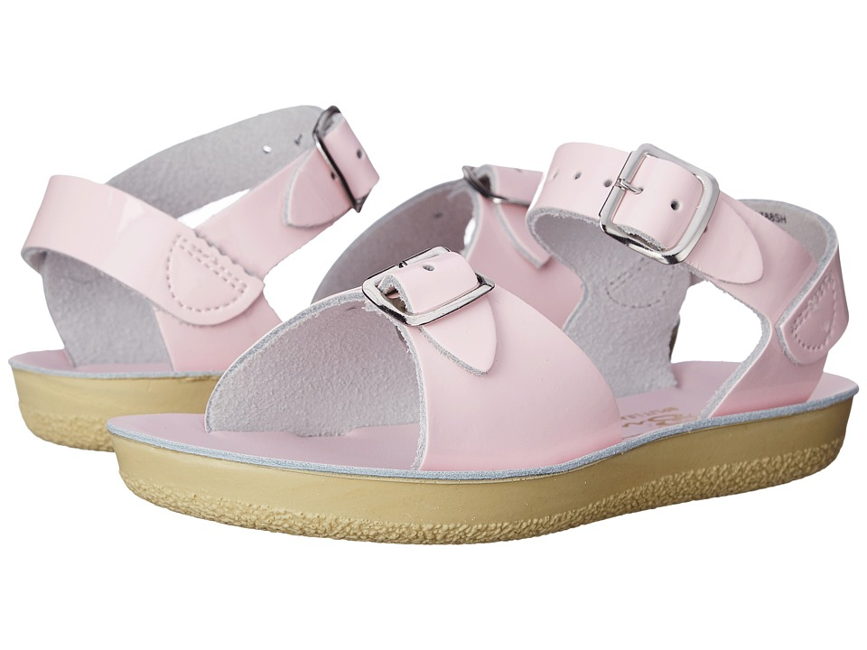 Salt Water Sandal by Hoy Shoes Sun-San Surfer (Toddler/Little Kid) (Shiney Pink) Girls Shoes