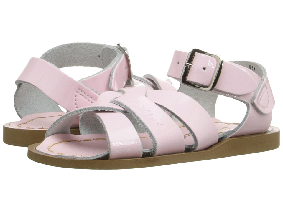 Salt Water Sandal by Hoy Shoes The Original Sandal (Infant/Toddler) (Shiney Pink 1) Girls Shoes