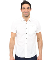 Kenneth Cole Sportswear - Short Sleeve Button Down Ripstop
