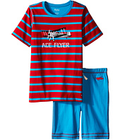 Hatley Kids - Fighter Planes Tee & Shorts Set (Toddler/Little Kids/Big Kids)