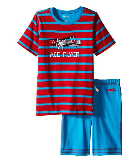 Hatley Kids Fighter Planes Tee & Shorts Set (Toddler/Little Kids/Big Kids)