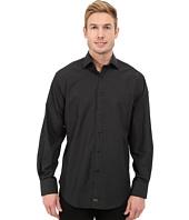 Thomas Dean & Co. - Long Sleeve Woven w/ Fil Coupe Dot