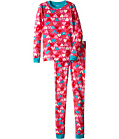 Hatley Kids - Crazy Hearts PJ Set (Toddler/Little Kids/Big Kids)