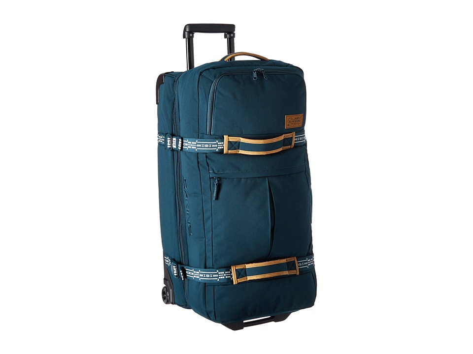 Dakine Split Roller Deluxe Luggage 65L Navy Canvas Luggage