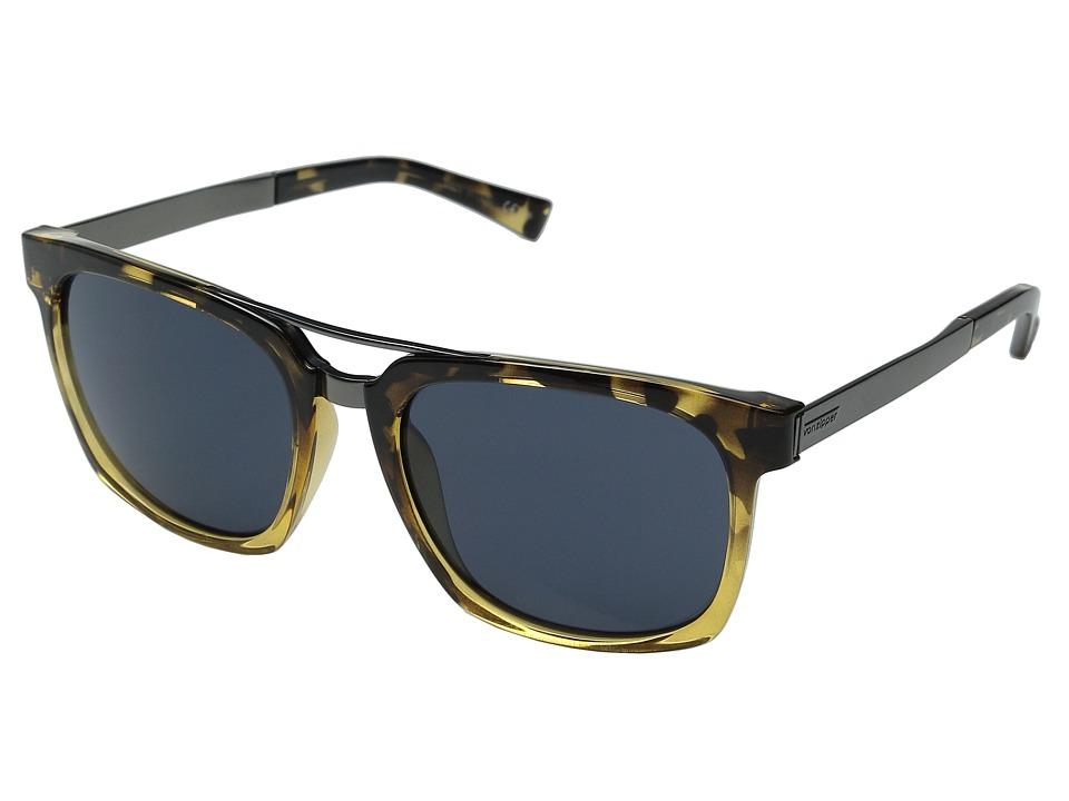VonZipper Plimpton Black Tort Fade Buff/Navy Fashion Sunglasses