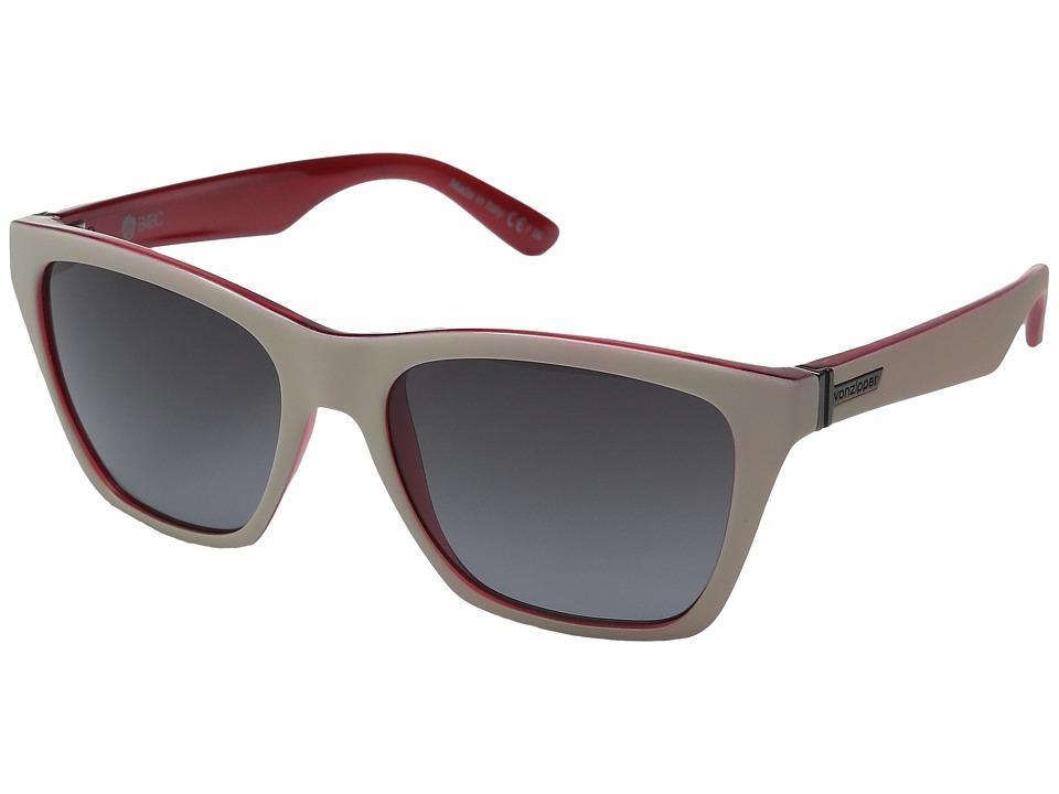 VonZipper Booker Sand Ruby/Grey Gradient Sport Sunglasses