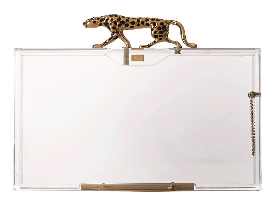 Charlotte Olympia Savage Pandora Transparent Clutch Handbags