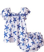 Hatley Kids - Star Fish Ruffle Bloomer Set (Infant)