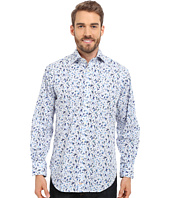 Thomas Dean & Co. - Long Sleeve Woven Poplin Print