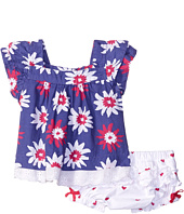 Hatley Kids - Summer Garden Flutter Tunic & Ruffle Bloomer Set (Infant)
