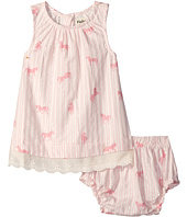 Hatley Kids - Flower Horses Lace Dress & Bloomer Set (Infant)