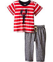 Hatley Kids - Lobsters Tee & Track Pants Set (Infant)