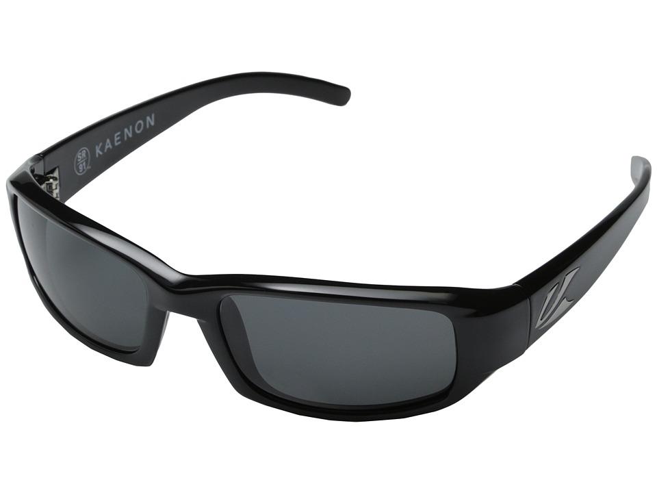 Kaenon Beacon SR91 Polarized Black W/G 12 Lens Tint Polarized Sport Sunglasses