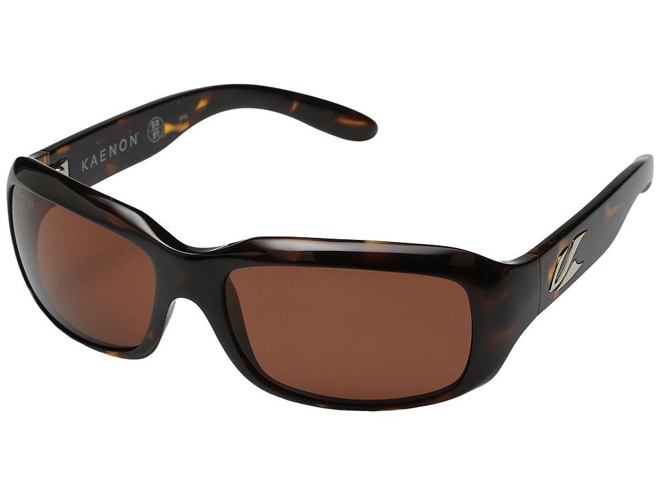 Kaenon Bolsa SR91 Polarized Tortoise W/C 12 Lens Tint Polarized Sport Sunglasses