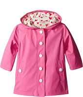Hatley Kids - Pink & Cream Hearts Splash Jacket (Toddler/Little Kids/Big Kids)