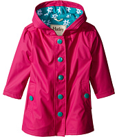 Hatley Kids - Fuchsia & Turquoise Daisies Splash Jacket (Toddler/Little Kids/Big Kids)